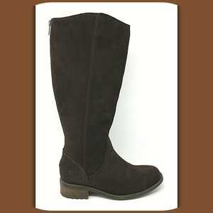 UGG Suede Leather Knee High Winter Boots